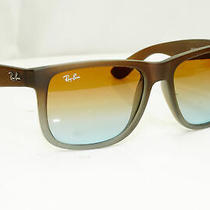 Authentic Ray-Ban Mens Sunglasses Justin Brown Rb 4165 854/7z 32114 Photo
