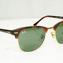 Authentic Ray-Ban Mens Vintage Sunglasses Brown Rb 3016 51mm W0366 33205 Photo