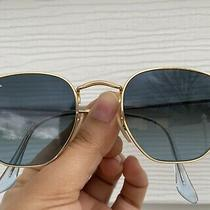 Authentic Ray-Ban Rb3548-N Octagon Junior Sunglasses Gold Turquoise Photo