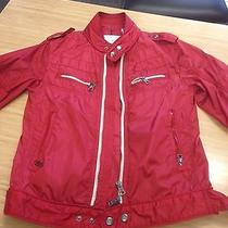 Authentic Red Moncler Jacket  Photo