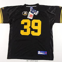 Authentic Reebok Pittsburgh Steelers Willie Parker 75th Patch Jersey 52 16487  Photo