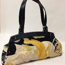 Authentic Salvatore Ferragamo Luxury Hand Bag Printed Photo