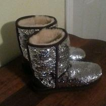 Authentic Sequin Ugg Boots Photo
