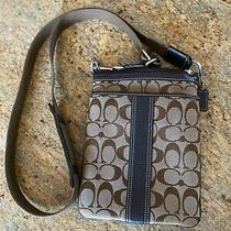Authentic Signature Brown Cross Body Coach Purse - Brand New Never Worn or Used Photo