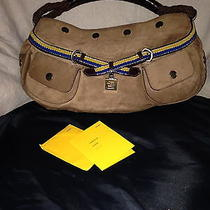 Authentic Suede Fendi Purse Photo
