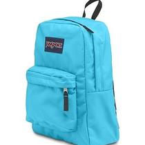 Authentic Superbreak Jansport Nwt Backpack Aqua 1550 Cubic in Mammoth Blue Photo