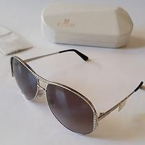 Authentic Swarovski Chic Chrome Sunglasses Sw39 16b for Women New Photo