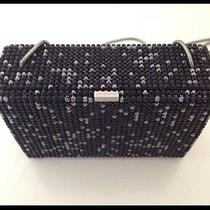 Authentic Swarovski Crystal Purse With Mesh Chain Photo