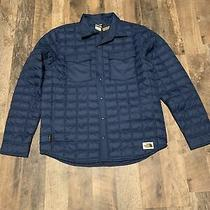 Authentic the North Face Thermoball Eco Snap Jacket Xl Shady Blue Nwt 199 Photo