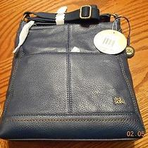 Authentic the Sak -  River Iris Leather Crossbody Bag Photo
