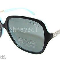 Authentic Tiffany & Co. Metro Square Sunglass Tf 4072b - 80553f New Photo