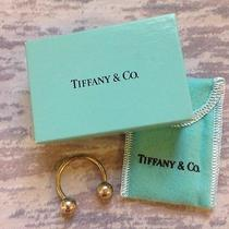 Authentic Tiffany & Co Sterling Silver Horseshoe Key Ring Holder With Box Photo