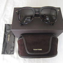 Authentic Tom Ford Campbell Tf198  56j  Unisex Sunglasses Havana Photo