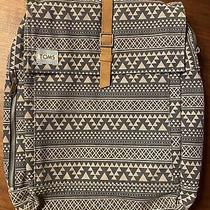 Authentic Toms Aztec Navy Laptop Backpack Tote Bag Photo