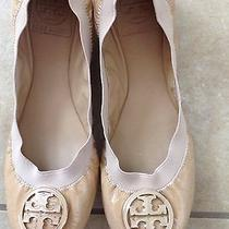Authentic Tory Burch Caroline Ballet Flat Camilla Photo