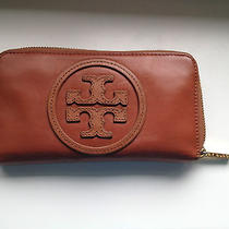Authentic Tory Burch Continental Leather Wallet Photo