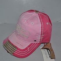 Authentic True Religion Baseball Cap Hat Tr1149 True Pink   Brand New Photo