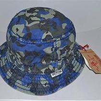 Authentic True Religion Bucket Hat Ink  Camo   Tr1795 L/xl    Brand New Photo