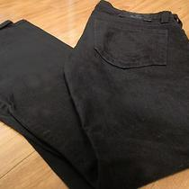 Authentic True Religion Jeans Section Bobby Seat 34 Black Size 33 - 187 Reg Photo