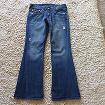 Authentic True Religion Joey Men's Jeans Row 34  Seat 33 Photo