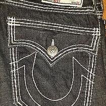 Authentic True Religion Men's Jeans Size 33 Seat 34 Photo