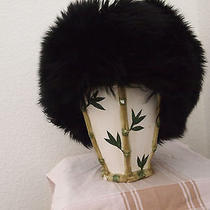 Authentic Tuscan Dyed Lamb Hat 100% Fur Origin Italy Photo