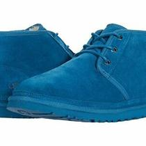 Authentic Ugg 3226 Men's Neumel Chukka Boots Shoes Blue Sapphire Suede Sz 13 New Photo