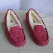 Authentic Ugg Australia Ansley Crystal Diamond Slippers   Women's 6 Photo