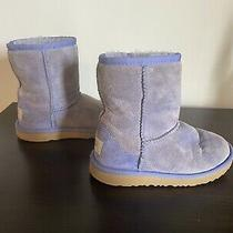 Authentic Ugg Boots S/n 1017703t Youth Size 12 Periwinkle Photo