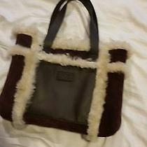 Authentic Ugg Purple  Bag Tote Purse  Photo