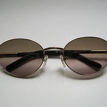 Authentic Valentino Sunglasses With Gold Frame & Tortoise Side Piece Photo