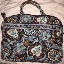 Authentic Vera Bradley Computer Bag - Java Blue Photo