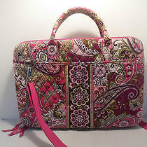 Authentic Vera Bradley Very Berry Paisley Hard Computer Case Bag  Photo