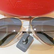 Authentic Versace Aviator Sunglasses Photo