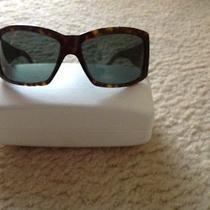Authentic Versace Black Sunglasses 4130b Swarovski Detailing Photo