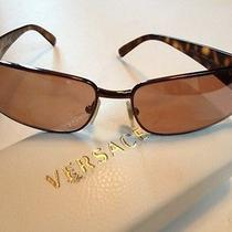 Authentic Versace Tortoise Frames   Ve 2021  With Case Photo
