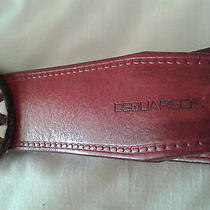Authentic Very Rare Dsquared Leather Belt  Photo