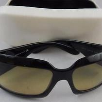 Authentic Vintage Chanel Sunglasses Black 5076h Mother of Pearl Logo Case Incld Photo