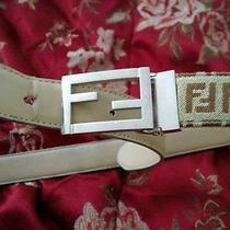 Authentic Vintage Fendi Belt Photo