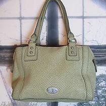 Authentic Vintage Fossil Snake Print Leather Handbag. So Cute. Photo