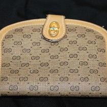 Authentic Vintage Gucci Gg Logo Wallet Photo