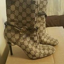 Authentic Vintage Gucci Horsebit Boots 6b - No Box Photo