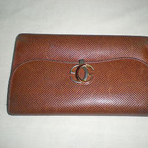 Authentic Vintage Gucci  Trifold Leather Wallet Photo