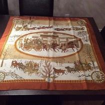 Authentic Vintage Hermes Silk Scarf -