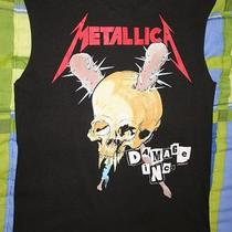 Authentic Vintage Metallica Damage Inc T-Shirt Heavy Metal Master of Puppets Photo