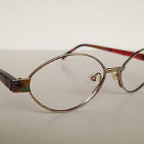 Authentic Vintage Missoni Designer Oval  Decorated Eyeglasses Frames  Photo