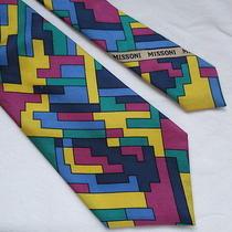 Authentic Vintage Missoni Exclusive Pure Silk Neck Tie 100% Silk Photo