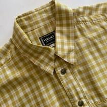 Authentic Vintage Versace Jeans Couture New Rare Men Cotton Shirt Size L-Xl Photo