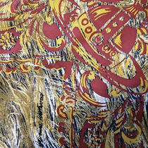 Authentic Vivienne Westwood Silk Scarf Collectible Rare Unique Pattern Signature Photo