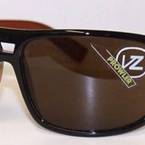 Authentic Vz Von Zipper Prowler Black Amber Sunglasses. Rrp 179.99. Nwt. Photo